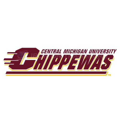 Central Michigan Chippewas logo T-shirts Iron On Transfers N4124